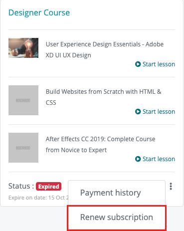 Academy LMS Course Bundle Subscription Addon - 12
