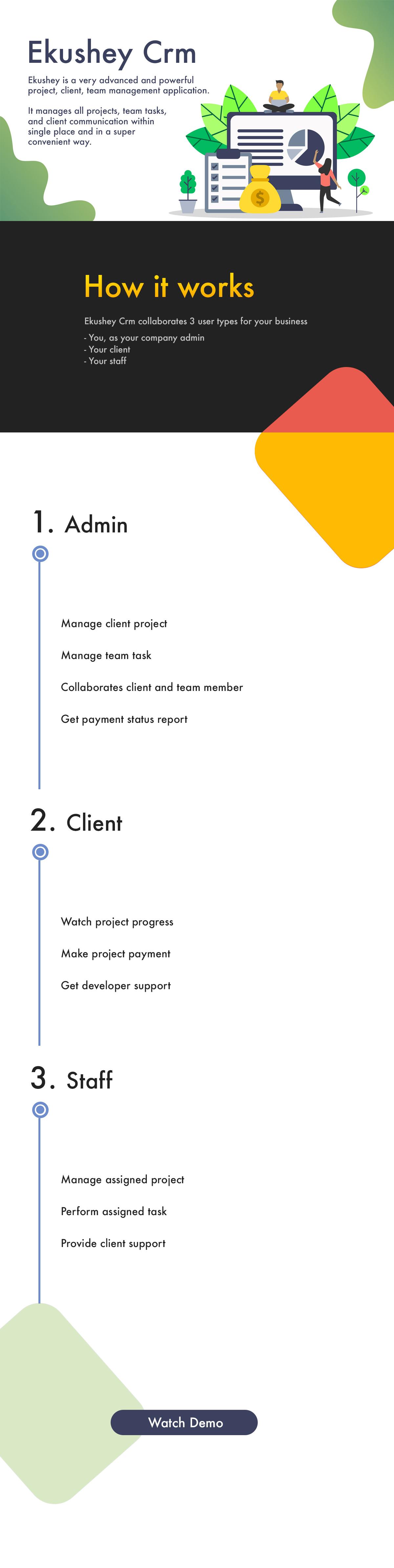 Ekushey Project Manager CRM - 1