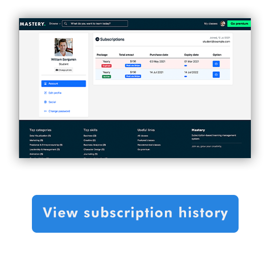Mastery Lms - Course Subscription System - 9